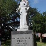 Pere Megret Statue
