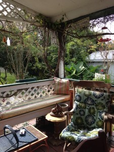 Back Porch Sitting Area