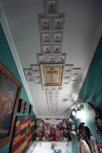 Ceiling of Ducote-Williams House